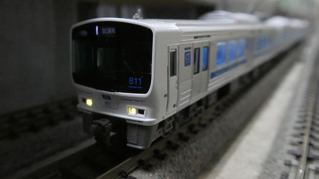 Photos: 模型:JR九州811系1500番台-02