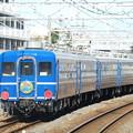 Photos: 草津駅に留置中の、『SL北びわこ号』の客車。