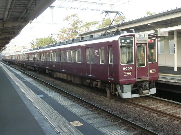Photos: 阪急:8000系(8003F)-04