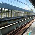 Photos: 8両停車へ武庫川駅。