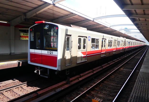 Photos: 大阪メトロ:10系(1121F)-01