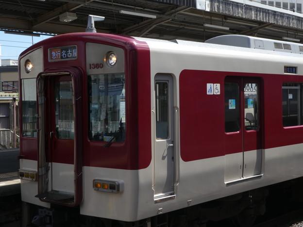 近鉄1253系(1260F)行き先表示器がフルカラーLEDに。