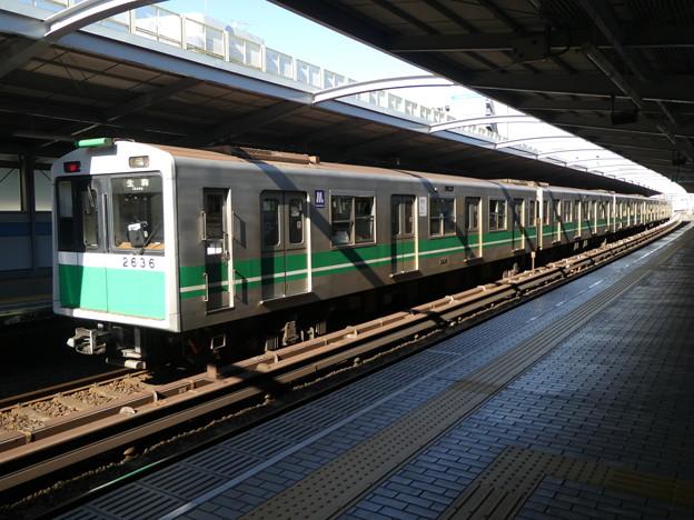 大阪メトロ:20系(2636F)-01