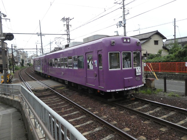 嵐電:モボ101形(106)・モボ501形(502)-01