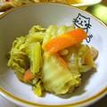 白菜のカレー風味のとろとろ煮…