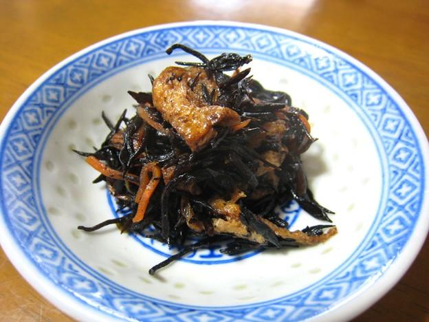 芽ひじきの炒り煮…