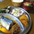 鯖の煮付け定食…