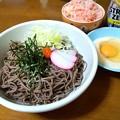 Photos: 蕎麦定食風…