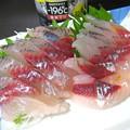 Photos: 飛魚の刺身…