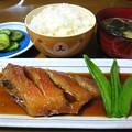 Photos: 煮魚定食風…