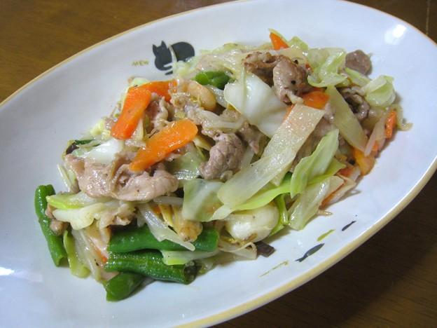 五目野菜炒め…