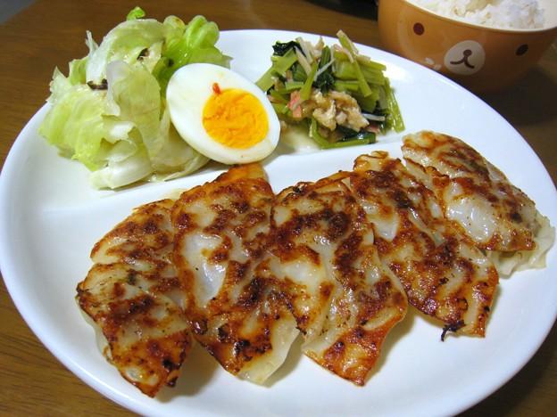 餃子定食…