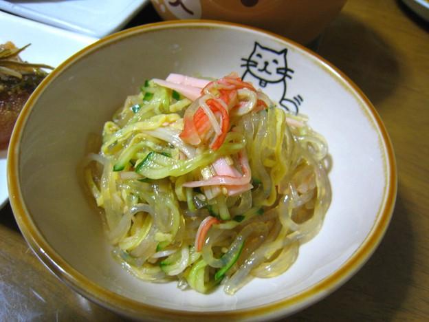 春雨の中華風サラダ…
