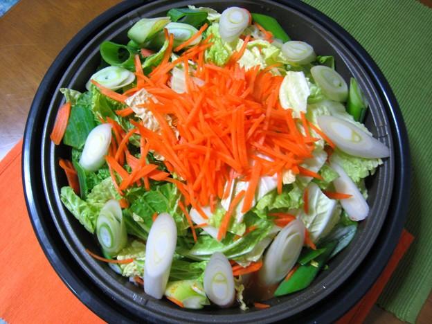 Photos: とり野菜みそピリ辛味…