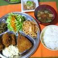 Photos: ミックスフライ定食・・・