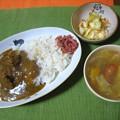 Photos: キッチン飛騨のビーフカレー・・・