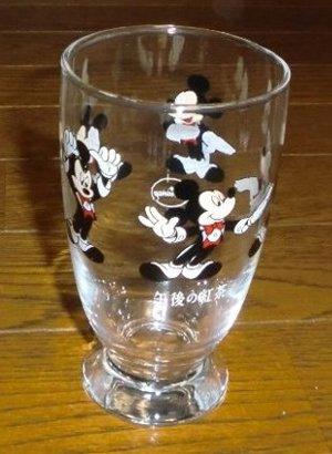 DISNEYオリジナルグラス ミッキーマウス