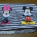 Photos: jouetie × Zipper ミッキー&ミニーBIGポーチ