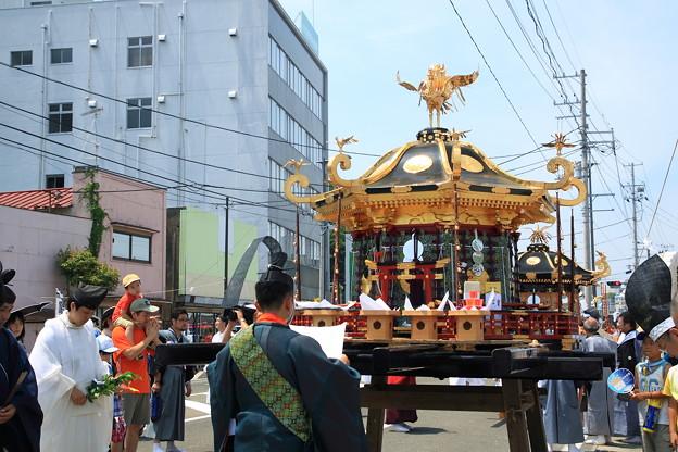 塩竈みなと祭:神輿御渡