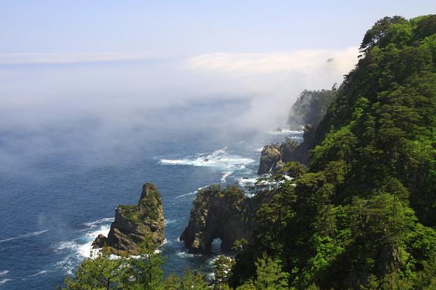 雲海の北山崎