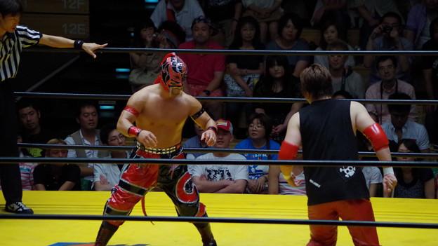 Photos: セミファイナル(3)