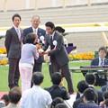 Photos: [140525東京11R優駿牝馬]表彰式の竹野内豊さん。 #東京ガス #ガスマニア