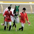 Photos: [140525東京11R優駿牝馬]ヌーヴォレコルト「まあ、勝っちゃったのは私なので、こればかりは…ね…」