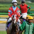 Photos: [140525東京11R優駿牝馬]ディルガ「私はさっきからいたって平然ですよ~浜中さんが少しガチガチ」