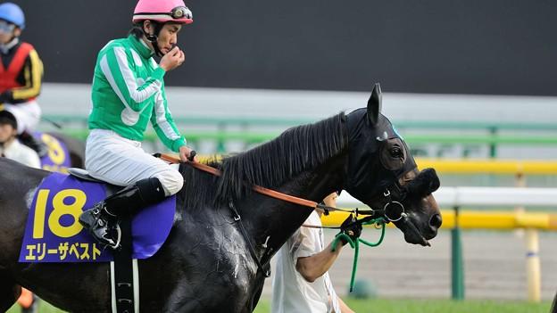 [140525東京11R優駿牝馬]エリーザベスト「リラックスしてきました~」
