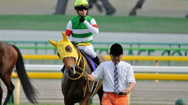 [140525東京11R優駿牝馬]ハープスター「おかしいわね~?」