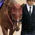 [140608東京11R安田記念]クラレント「気合いはないわけではないですよ、ほら、ね?」