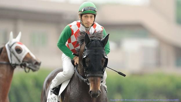 [140625大井9RFあじさい特]ブラックピアド&矢野貴「中央の馬ってどんだけ強いんだろう…」