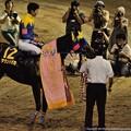 Photos: [140702川崎11RスパーキングレディーC]記念撮影のサウンドガガ「ユタカさんテンション高いわね~」