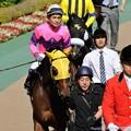 Photos: [140511東京10RブリリアントS]?ナリタシルクロード「エダテルさん、一泡吹かせましょうよ~」エダテル「吹かせちゃおうか~」