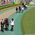 Photos: [140511東京10RブリリアントS]ダブルスター「…イッシンドウタイはオレのこと嫌いなのか?」イッシンドウタイ「なんだろうこの距離…」