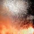 [140720東京競馬場花火大会]最後の最後のヤケクソ花火
