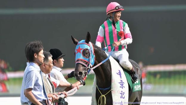[140727中京11R中京記念]サダムパテック「忘れられがちなんですが、ぼく、G1馬でもあるんですよ(えっへん」