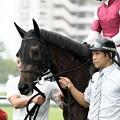 Photos: [140727中京5R新馬]ニューエディション&浜中「うーん・・・プレッシャーっていうのかなこれ…」