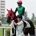 Photos: [140727中京5R新馬]クリノケンパイ&太宰「うわー、結構びっくりしてます」