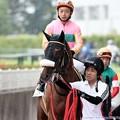 Photos: [140727中京5R新馬]テイエムセキハン&畑端「勝ったら私にもお赤飯出るのかな~」