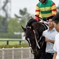 Photos: [140727中京5R新馬]トウケイリニア&川島「やるよ・・・ぼくはやるよ…」