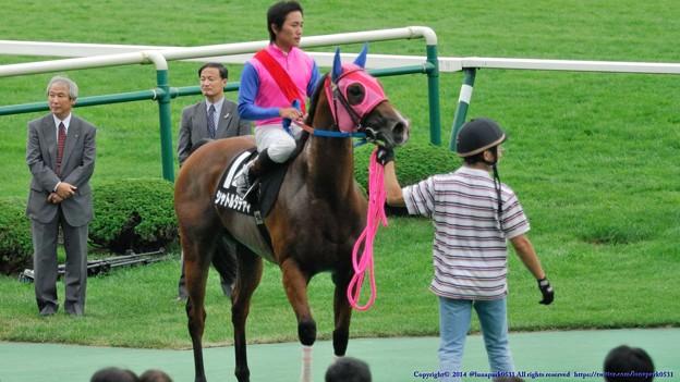 [070902札幌10Rまりも特別]シャトルタテヤマ「川島さんようやく今日勝てましたね、おめでとうございまーす」