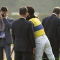Photos: 重賞ではエアメサイアの05秋華賞以来、この勝負服のユタカが帰ってきた!【141012東京11R毎日王冠】