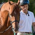 (8)ライジングサン「どうもねー最近ちくはぐっすね。馬体はピカピカなんだけど」【141026京都10R英雄ディープインパクトC】