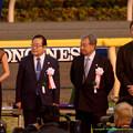 田中将大投手「マウンドからベースまでの距離よりも遠い、リンさんが遠い」【141130東京11Rジャパンカップ】 #JapanCup