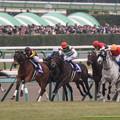 150m、逃げるエピファネイアをジェンティルドンナ、トゥザワールド、ゴールドシップが追いかける【141228中山10R有馬記念】