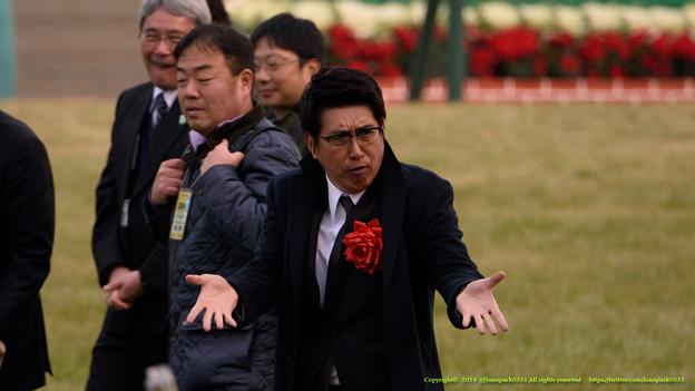 ノリノリだったタカさん【141228中山10R有馬記念】