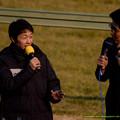 Photos: タカさん「武さん、ニンジンは食えるようになりましたか?」武J「ニンジンは人間が食うものじゃないです」(嘘)【141228中山ジェンティルドンナ引退式】