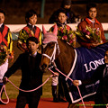 Photos: ジェンティルドンナ「嬉しいのは勝ったときだけなのかしら…私…遊ばれてたのかしら」【141228中山ジェンティルドンナ引退式】