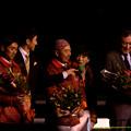 Photos: 日迫厩務員「やっぱり寂しいですよね」井上助手「うんうん…」【141228中山ジェンティルドンナ引退式】
